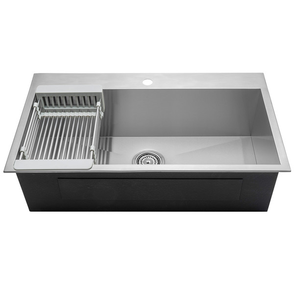 Topmount Stainless Steel Kitchen Sink Akdy Imports